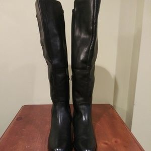 Clarks Women Leather Boots Size 10